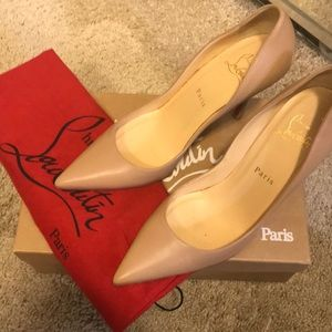 A pair of Christian Louboutin